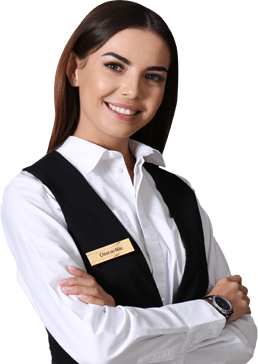 Our receptionist is approachable and easy to connect to the customers' who struggles